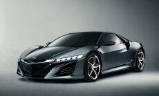 'Honda' parāda jaunu 'NSX' superauto konceptu