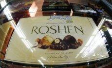 Krimas iedzīvotājiem vairs nebūs pieejami 'Roshen' saldumi