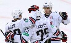 KHL nedēļas labākie – vārtsargs Jerjomenko, aizsargs Zaicevs un uzbrucējs Zaripovs