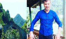 Arnis Krauze gūst traumas, Gruzijā nokrītot no tilta