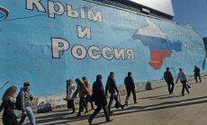 ANO Ģenerālā asambleja neatzīst Krimas referendumu; Krievija 11 balsis 'pret' sauc par uzvaru (plkst. 19:25)