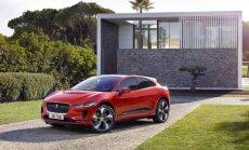 Nākamnedēļ Latvijā testa braucienu tūrē ieradīsies elektriskais 'Jaguar I-Pace'