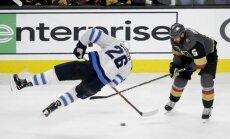 NHL debitante 'Golden Knights' nonāk uzvaras attālumā no Stenlija kausa fināla