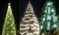 ФОТО. Рождество из топора: Топ-10 самых красивых елочек в небольших латвийских городках