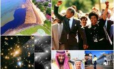 Nedēļa pasaulē: Saudarābi atmaigst pret Izraēlu, mirst Mandela, un zinātnieki nobildē Ikaru