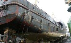 Jau atkal tiesā prasa 'Rīgas kuģu būvētavas' maksātnespēju