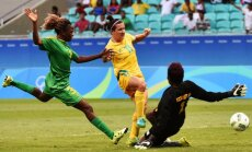 XXXI Riodežaneiro vasaras olimpisko spēļu sieviešu futbola turnīra rezultāti (09.08.2016.)