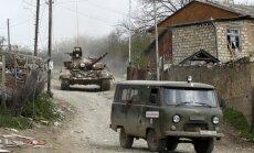 Erdogans pārmet Krievijai nosliekšanos Armēnijas pusē Kalnu Karabahas konfliktā