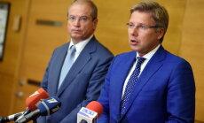 Коалиция пойдет на выборы единым списком, Ушаков - кандидат на пост мэра Риги