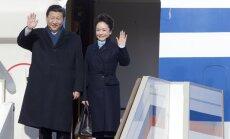 Ķīnas jaunais prezidents sāk vizīti Krievijā