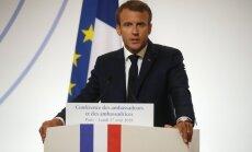 ES drošība vairs nevar būt atkarīga no ASV, pauž Makrons