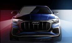'Audi' janvārī prezentēs 'BMW X6' konkurentu 'Q8'