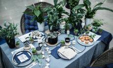 Dekoratores ieteikumi radoši klātam svētku galdam