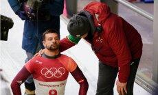 Martins Dukurs, visticamāk, liek punktu karjerai; Tomass veica savu pēdējo olimpisko braucienu