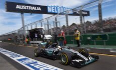 Hamiltons uzvar Austrālijas 'Grand Prix' kvalifikācijā