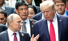 Putins pasakās Trampam par CIP palīdzību