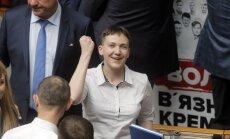 Савченко во время голодовки посетила США и продегустировала вино
