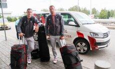 Foto: Divkārtējais olimpiskais čempions Štrombergs dodas uz savām trešajām olimpiskajām spēlēm