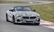 BMW daļēji atklājis jauno 'Z4' rodsteru
