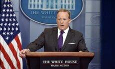 Atlūgumu iesniedzis Baltā nama preses sekretārs Spaisers