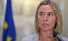 ES no Kijevas sagaida autonomijas piešķiršanu Donbasam, paziņo Mogerīni