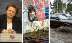 7 декабря. Отставка Страуюмы, последствия бури в Латвии, водопроводная авария в Риге