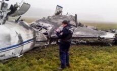 'Total' prezidenta lidmašīnas avārijas lietā aizturēti četri Maskavas lidostas darbinieki