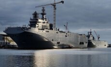 Olands: Francija atmaksās Krievijai naudu, ja 'Mistral' kuģi netiks piegādāti