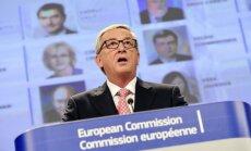 Junkers: ES būtu jāspēj uzņemt divus miljonus bēgļu