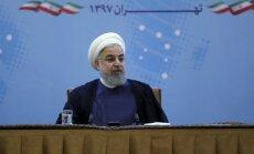 Konflikts ar Irānu būs 'visu karu māte', atzīst Ruhani
