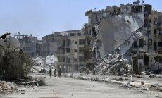 Foto: Kā izskatās septiņus gadus apšaudītais Damaskas Jarmukas rajons