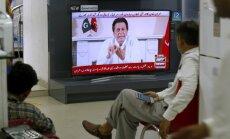 Kriketa zvaigzne Hans pasludina savas partijas uzvaru Pakistānas vēlēšanās