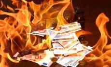 Baltijas valstīs turpina pieaugt bankrotējušo uzņēmumu skaits
