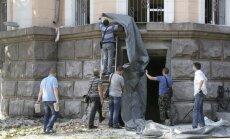Odesā sarīkots sprādziens nodara postījumus UDD pārvaldes ēkai