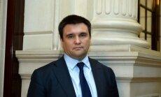 Latvijā ieradīsies Ukrainas ārlietu ministrs