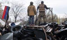 Austrumukrainā aizturēti Krievijas izlūkdienesta virsnieki, paziņo Kijeva