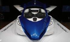 Pozitīvi jaunumi: lidojošas automašīnas būs jau 2017. gadā