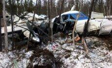 Lidmašīnas katastrofā Krievijā seši bojāgājušie