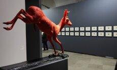 Foto: Nacionālais mākslas muzejs atklāj kolekcijas jaunieguvumu izstādi