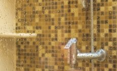 Kā panākt spožas un nevainojami tīras dušas kabīnes durvis?
