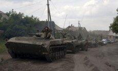 Kijeva ziņo par smagākajām sadursmēm kopš Minskas vienošanās