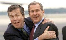 Džordžs Bušs piedalīsies brāļa prezidenta priekšvēlēšanu kampaņā