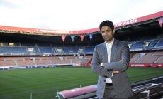 'Paris Saint-Germain' priekšsēdētājs komandā labprāt redzētu arī Messi un Ronaldu