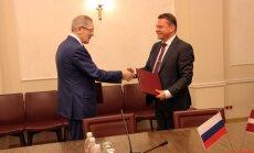 LDz un Krievijas lielākais dzelzceļa kravu operators vienojas par sadarbību
