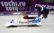Latvija iegūst vēl vienu olimpisko medaļu – SOK diskvalificē arī bobslejistu Kasjanovu