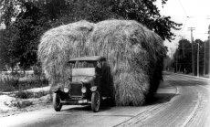 Pirms 100 gadiem 'Ford' klajā laida komerctransporta priekšteci 'Model TT'