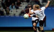 Rio olimpisko spēļu dāmu futbola turnīra ievadā Vācija graujoši uzvar Zimbabvi