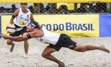 Ekonomikas krīze Brazīlijā: Rio Olimpiādē samazina skatītāju vietas sacensībās pludmales volejbolā un airēšanā