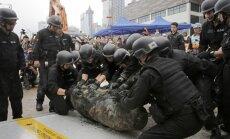 Honkongā atrasta kārtējā Otrā pasaules kara bumba