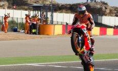 Markess uzvar Aragonas 'Grand Prix' un palielina pārsvaru kopvērtējumā